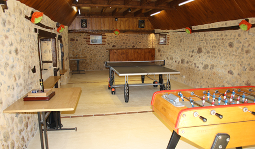 Cottage-les-Mappelous-Games-room-Dordogne