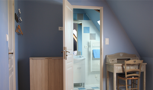 cottage-les-mapellous-blue-bathroom-Dordogne