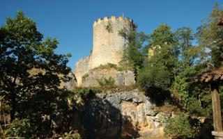 Castle -Perigord - Black -La -Vezere -Dordogne